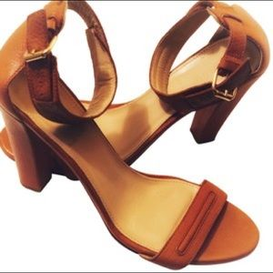 New Amalia high-heel sandals in Redwood Branch